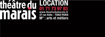Logo Théâtre du Marais Paris